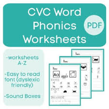 Phonics is a method of teaching kids to learn to read by helping them to match the sounds of letters, and groups of letters, to distinguish words. A Z Cvc Word Phonics Worksheets No Prep Pdf By One Stop Special Ed Shop