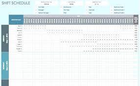 Schedule Monthly Template Schedule Template Excel Work Weekly Monthly Employee