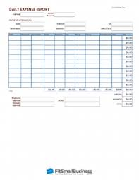 Expense Report Forms Free How To Account For Employee Expenses Free Expense Report