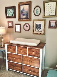 baby room furniture ideas. project nursery refinished dresser with mismatched pulls baby room furniture ideas