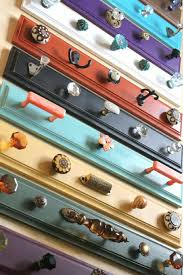 How To Make Coat Rack With Door Knobs Simple Easy DIY Ideas Wall Coat Rack Art Ideas Crafts
