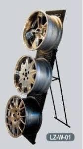 Alloy Wheel Display Stand Foldable Car Rim Wheel Display Rack Standid100 Buy China 16