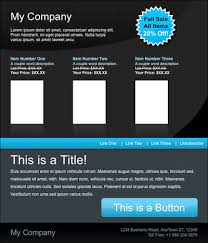 Free HTML Email Template: Malibu - Email Marketing Tips