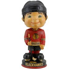 Chicago blackhawks vintage bobbleheads