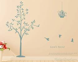 tree birds with es wall decal