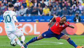 نتيجة مباراة الارجنتين وتشيلي كوبا امريكا 2021 - يلا شوت الجديد