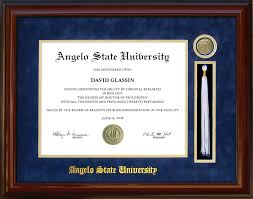 angelo state university tassel diploma frame wordyisms angelo state university tassel diploma frame