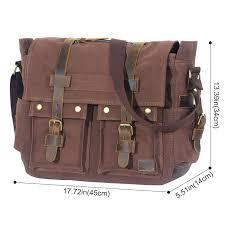 mens vintage leather messenger bag australia