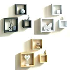 cube wall shelves floating box glass wall shelf sky cube cube wall shelf
