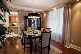 black drum chrome chandelier for amazing dining room lighting design