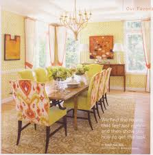 Floral Dining Room Chairs Best Ideas For Orange Dining Room Designs Kitchen And Dining Room