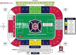 Toyota Park Stadium Chicago Fire S C Football Tripper