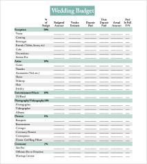 Wedding Planning Budget Calculator 22 Wedding Budget Templates Free Sample Example Format Download