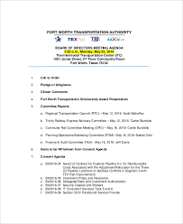 12 Strategy Meeting Agenda Templates Free Sample Example