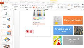 Herramienta Para Identificar Color En Powerpoint 2013
