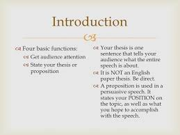 speech writing introduction and conclusion introduction  four