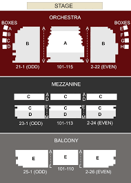 Citi Shubert Theater Seating Chart Prototypic Citi Performing Arts Center Boston Seating Chart