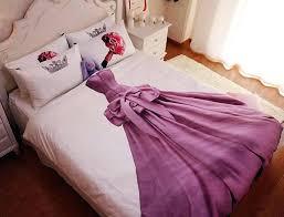princess bedding queen size sets kids teen girls cotton bed sheets duvet cover set bedspread in