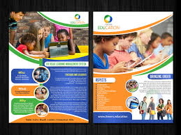 school flyer design galleries for inspiration page  education flyer design by esolz technolog