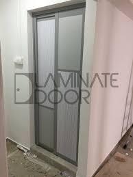 slide swing toilet door for hdb