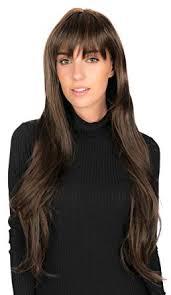 Cheveux Long Crepeles Avec Filet Perruque Postiche Femme