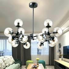 ball chandelier lights inspirational modern crystal cup dining room pendant