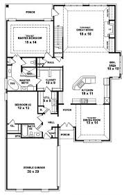 Small Four Bedroom House Plans One And A Half Story House Plans Gucobacom