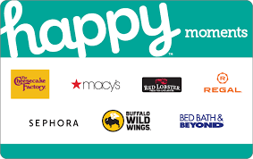 happy moments gift card cardnow
