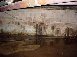 repairing leaking basement walls what