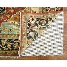 5 round rug pad get ations a grid non slip round rug pad 6 feet 5 5 round rug pad