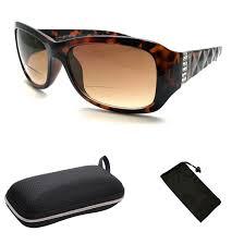 Designer Sun Readers Bifocal Sun Readers All In One Women Premium Designer Fashion Sunglasses Reading Glasses Tortoise 1 75