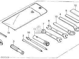 honda tlr200 reflex 1986 g usa california parts lists and schematics honda tlr200 reflex 1986 g usa california tools