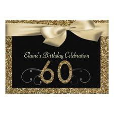60 birthday invitations 60th birthday invitations announcements zazzle uk