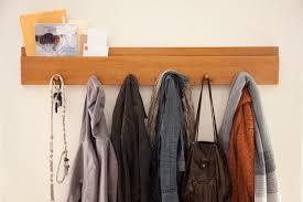 Wall Mounted Coat Rack Ideas Home