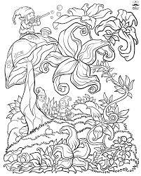 fl fantasy digital version coloring book