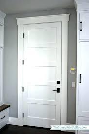 modern white interior door. Modern Door Casing White Interior Doorway Ideas Best Doors On Room
