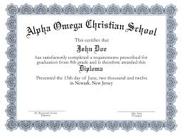 Diploma Word Template Template Diploma Certificate Template Word 8