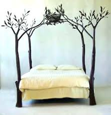 Wrought Iron Beds Painting Metal Bed Frame Beds Enchanting Black ...