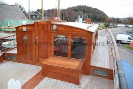 wooden classic motor yacht twin engine the wheelhouse
