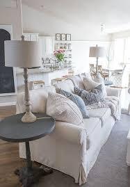custom slipcovers to get that farmhouse style coastallivingrooms