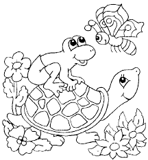 Small Picture Turtle Coloring Page lezardufeucom