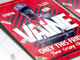 Example Of Flyers Dj Party Event Flyer Psd Template By Psd Market Dribbble Dribbble
