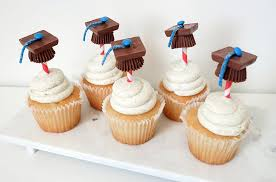 Diy Graduation Party Cupcake Toppers Ebay Style Stories