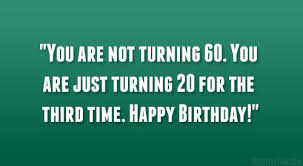 Quotes 60th Birthday