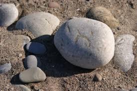 3)a rock