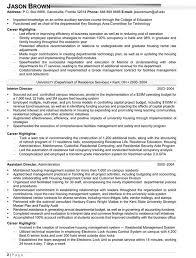 vp operations resume