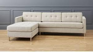 ditto II hemp tufted sectional sofa ...