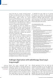 How Long Should A Resume Be Enchanting Androgen Deprivation With Radiotherapy How Long Is Long Enough