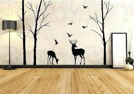 deer wall decals for nursery wildlife wall decals deer wall decals tree nursery wall art woodland