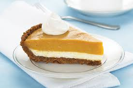 double layer pumpkin pie my food and
